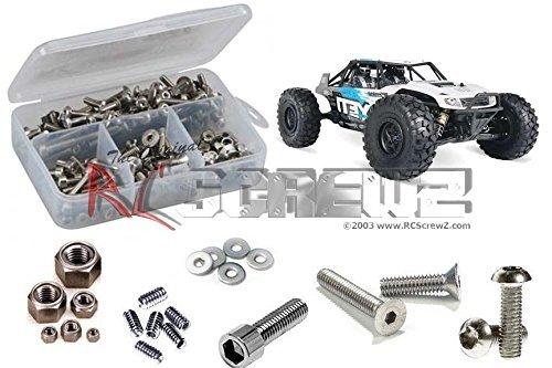 RC Screwz Axial Yeti 110th 4wd Stainless Steel Screw Kit