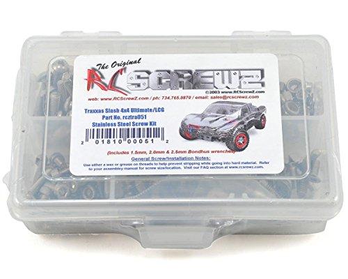 RC Screwz Traxxas Slash 4x4 UltimateLCG Stainless Steel Screw Kit