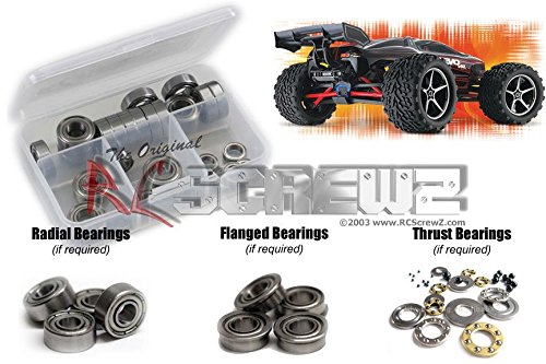 RCScrewZ Traxxas 116 E-Revo VXL Metal Shielded Bearing Kit tra037b