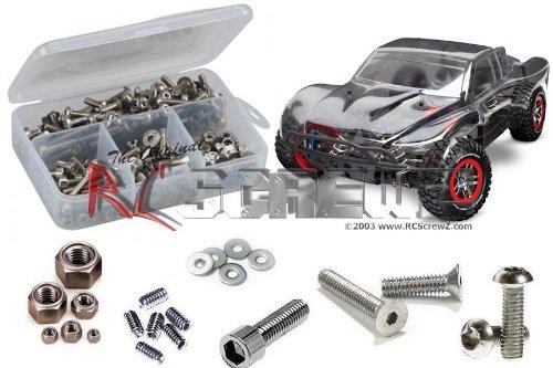 RCScrewZ Traxxas Slash 4x4 Ultimate LCG Stainless Steel Screw Kit tra051