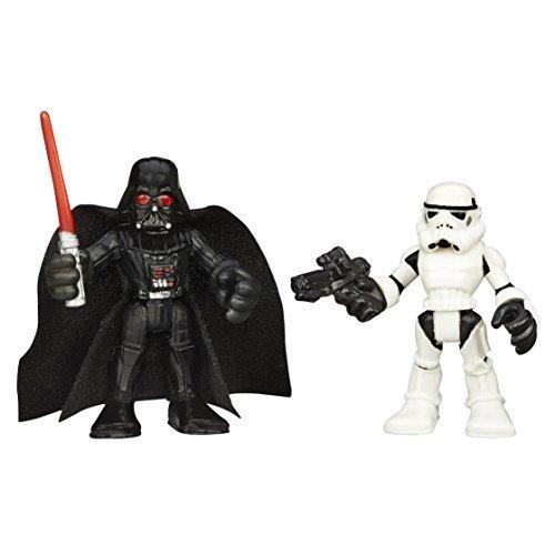 Playskool Heroes Star Wars Galactic Heroes Darth Vader and Stormtrooper by Playskool