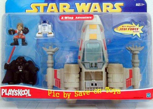 Star Wars Playskool Galactic Heroes X-wing Adventure