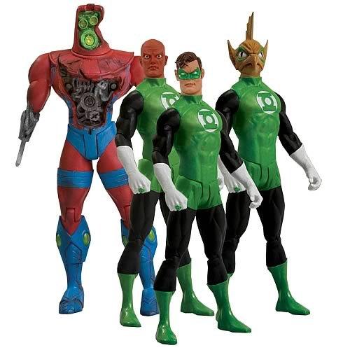 Green Lantern Action Figure Box Set