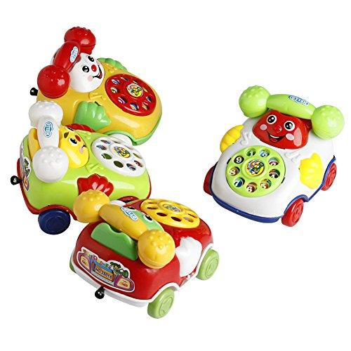 Delight eShop 2016 Baby Toys Music Cartoon Phone Educational Developmental Kids Toy Gift