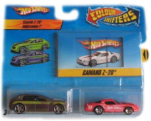 Hot Wheels Color Shifters Cars Camaro Z-28 Unobtainium 1 Car Set