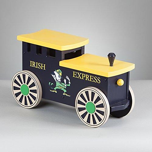 Kids Wooden Riding Toy Ride On Train - Irish Express