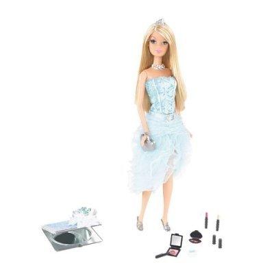 Barbie Fashion Fever - Brilliant Blue Makeup Chic Doll