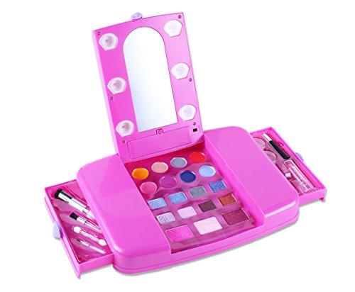 Tokia Kids Makeup Set Kids Makeup Play Sets for Little Girls