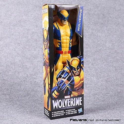 Hero Series 12 30cm Avengers Superheroes Wolverine PVC Action Figures Toys
