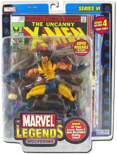 Marvel Legends Series 6 Wolverine Variant Action Figure