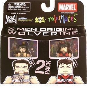 Minimates Marvel Series 26 Wolverine Movie  Deadpool Special Ops Wolverine Action Figure 2-Pack