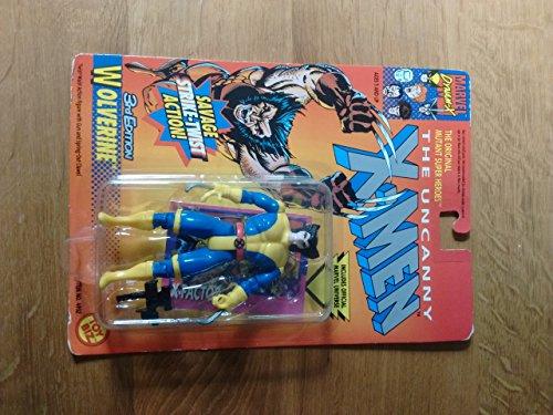 The Uncanny X-Men 3rd Edition WOLVERINE 5 Action Figure 1996 ToyBiz