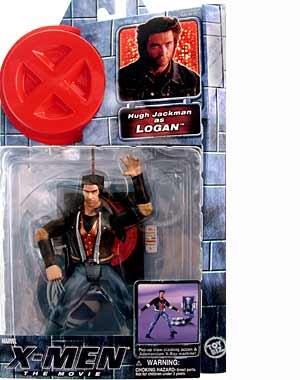 X-MEN THE MOVIE LOGAN WOLVERINE ACTION FIGURE