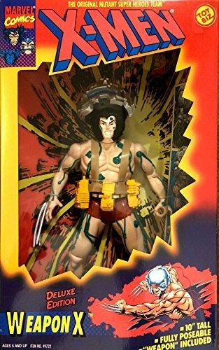X-Men Deluxe Edition Weapon X Wolverine Action Figure by X Men