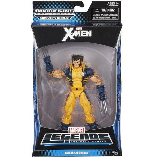 X-Men Legends Wolverine Action Figure by Hasbro