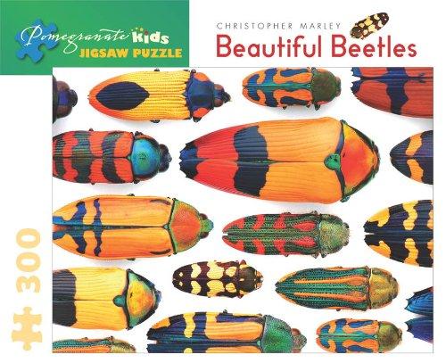 Christopher Marleys Beautiful Beetles Jigsaw Puzzle Pomegranate Kids Jigsaw Puzzle