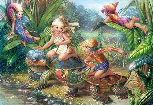 Turtle Pond Kids Jigsaw Puzzle 100 Puzzle