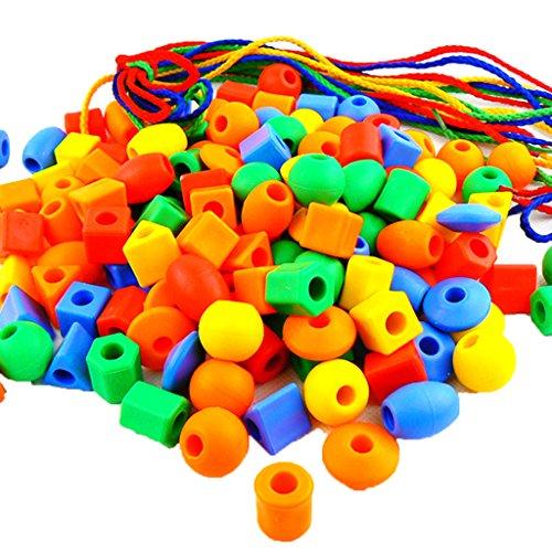 JingQ JQ1040 Plastic Beaded Blocks Construction Assembling Toy DIY Puzzle Block Set Educational Jigsaw Gift for Baby Children Kids