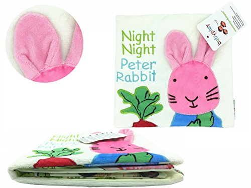 Cloth BookSoft Active BookChristmas Gift For BabysMommys HomeAnimal Rabbit Petter Rabbit PuzzleBaby Toy Cloth Development Books