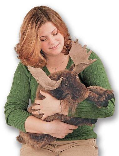 26 Life-Like Extra Soft and Cuddly Plush Brown Moose Stuffed Animal Hug