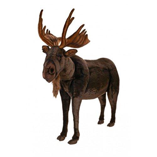485 Lifelike Handcrafted Extra Soft Plush Ride-On Moose Stuffed Animal