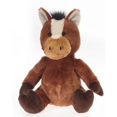 Sitting Brown Horse Stuffed Animal
