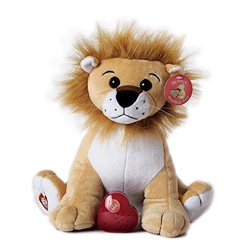 MBHB - King of the Jungle Lion Stuffed Animal w 20 sec Voice Recorder - Lion