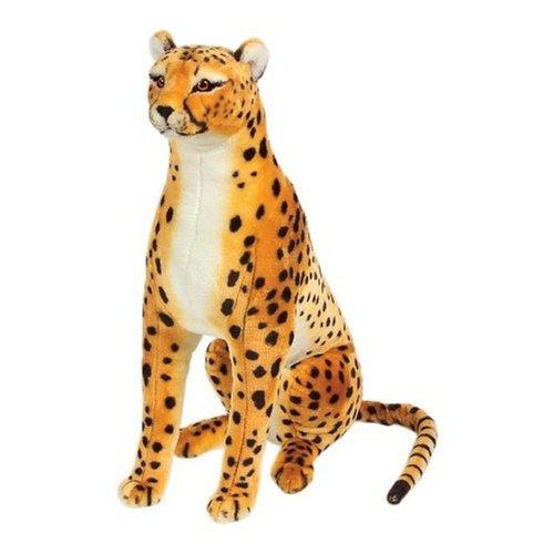 Melissa Doug Giant Cheetah - Lifelike Stuffed Animal over 4 feet long