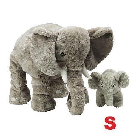 Ikea Stuffed Animal Elephant Calf Soft Toy Small