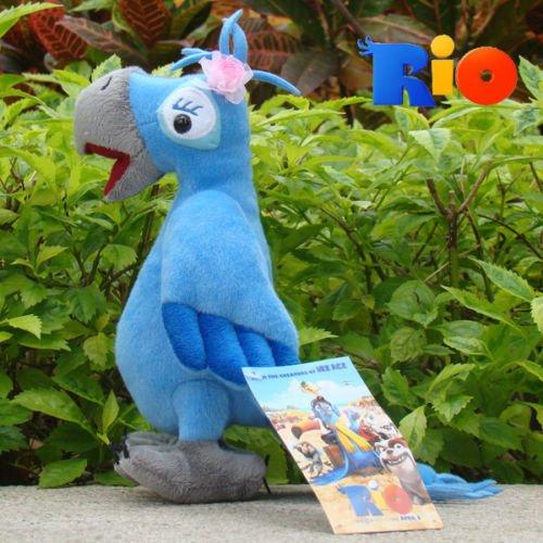Rio 2 Plush Toy Jewel 85 Lovely Female Blu Parrot Stuffed Animal Doll