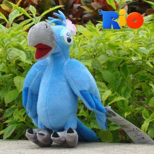 Rio Plush Toy Jewel 85 Movie Figure Female Blu Parrot Stuffed Animal Doll NWT