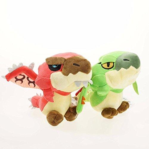 2Pcsset 20CM Monster Hunter Freedom Game Plush Toys Stuffed Dragon Doll Gift