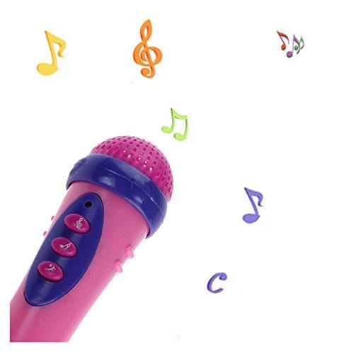 Baby ToysHaoricu Cute Girls Boys Microphone Karaoke Singing Kids Funny Gift Music Toys