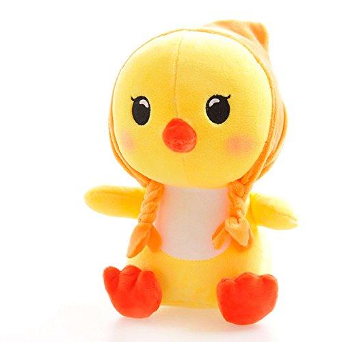 BestTopPlus Plush Toy 7cute Plush Toy Small Yellow Chicken Plush Toy Soft Stuffed Animal DollOrange