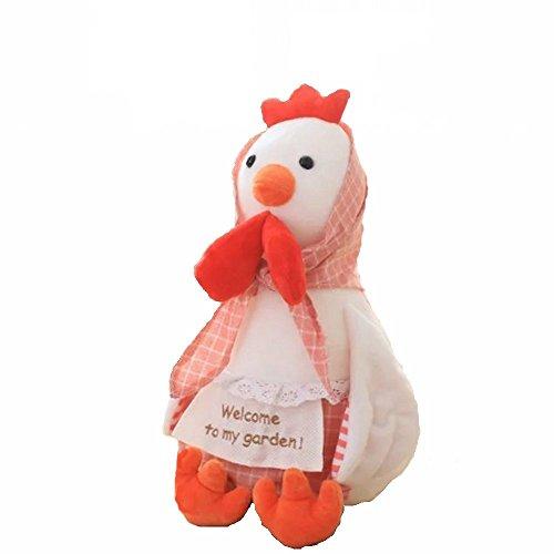 Creativity Lovers Hen Chicken Plush Toys Chinese Zodiac Doll Cock Cloth doll Animals Stuffed Plush Kids Toys Christmas Gift