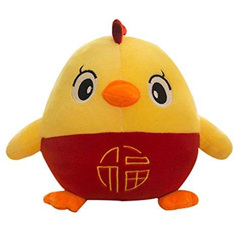 Cute Stuffed Animals Chicken Plush Toy Pillow Doll Birthday Gift 30 cm