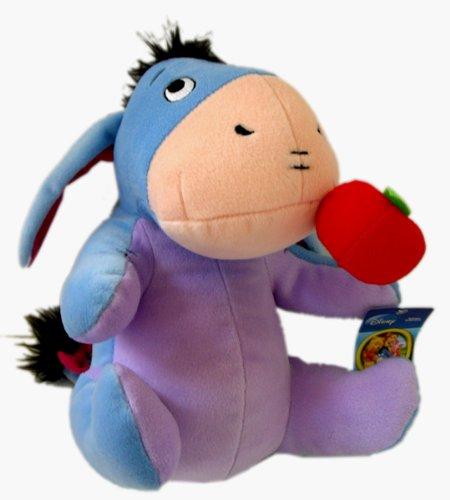 Disney EEYORE Plush Toy - 12in EEYORE Apple Stuffed Animal