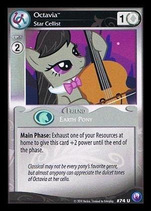 My Little Pony CCG - Octavia Star Cellist 74 - Canterlot Nights