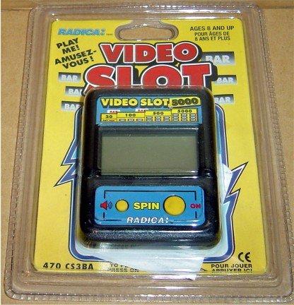 Radica Video Slot Handheld Game
