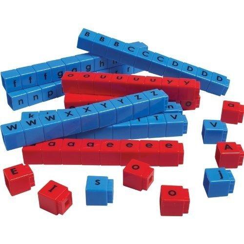 Didax Educational Resources CVC Unifix Letter Cubes Set of 90