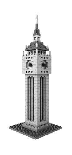 Loz Micro Blocks British Clock Tower Model Small Building Block Set Nanoblock Compatible 870 pcs Makes a Great Stocking Stuffer