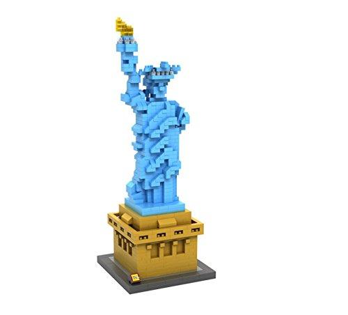 Loz Micro Blocks statue of liberty Model Small Building Block Set Nanoblock Compatible 820 pcs