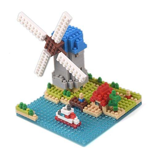 YouCute Micro Blocks Netherlandish windmillsSmall Building Block Set