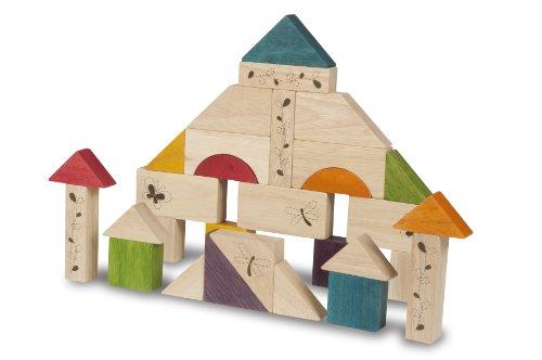 Wonderworld Natural Wooden Block Set