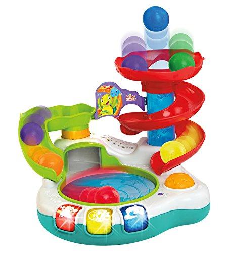 Bright Starts Spin N Slide Ball Popper Toy