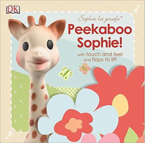 Vulli Sophie The Giraffe Peekaboo Touch and Feel Book