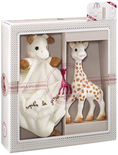 Vulli Sophie la Girafe Sophiesticated Tenderness Creation Birth Set Medium 1- Plush Lovie Toy