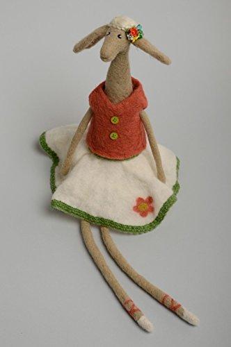 Handmade Felt Toy Lamb