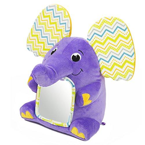 Kiddopotamus Peek-A-Boolaphant Plush Floor Mirror Toy