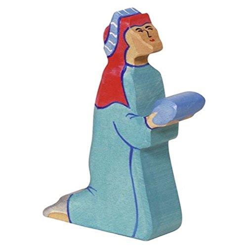 Holztiger Balthasar 2 Toy Figure Blue